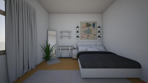 Minimal - Minimal - Bedroom  - by  bishesta