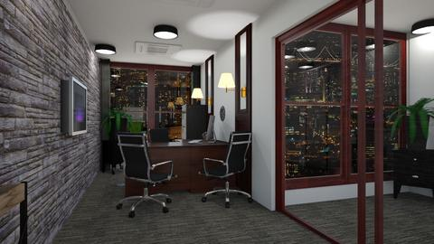 Container office - Office  - by JoJo Y