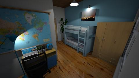 Het eerste boot de rook - Kids room  - by Belle van der Groepen