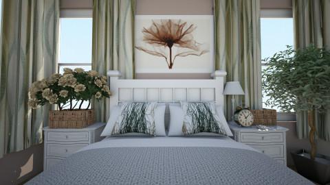 romantic style bedroom - Vintage - Bedroom  - by ColourAngel