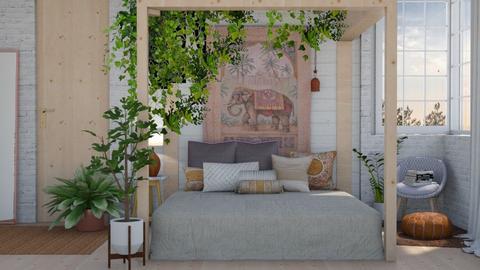 j u n g l e - Bedroom  - by Kelli Mallory