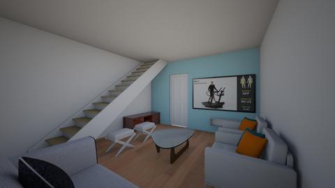 Living Room Config 4 - Living room  - by MKMane