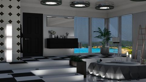 freestanding bathtub  - Living room  - by nat mi