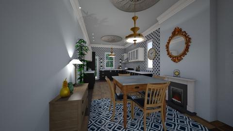 Looe House  - Kitchen - by Lisett