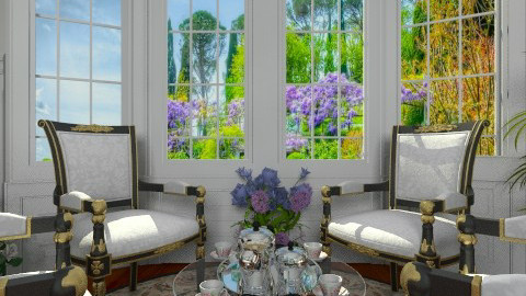 Talk - Classic - Living room  - by Bibiche