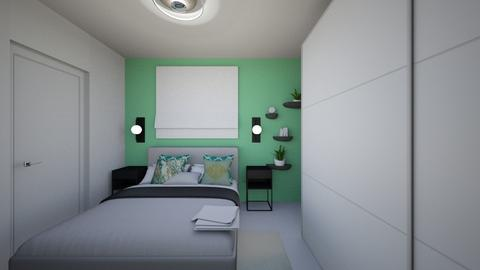 ilana bedroom 5 - Modern - Bedroom  - by ilanitrusso