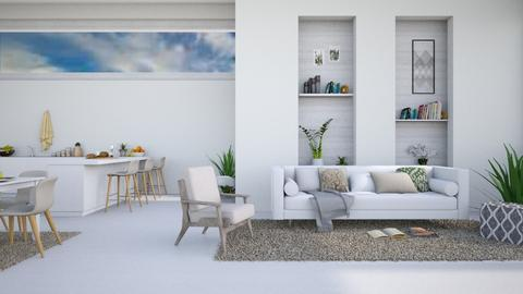 White Home - Modern - by millerfam