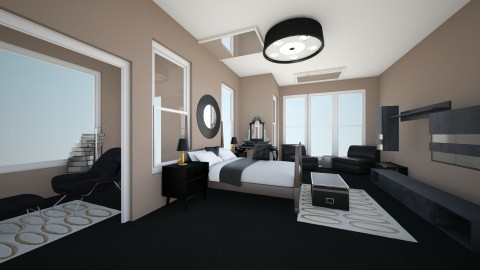 black  - Bedroom - by Stacy876