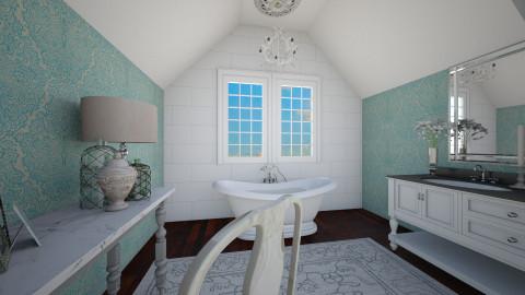 Country Bath - Bathroom  - by Hope42
