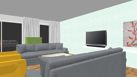 Woonkamer 2 banken - Living room  - by peter appelhof