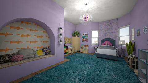 little girls room - Kids room  - by 32103sarah