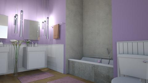 lvender bath - Bathroom - by nikolin_