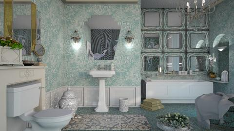 M_Art deco - Bathroom  - by milyca8