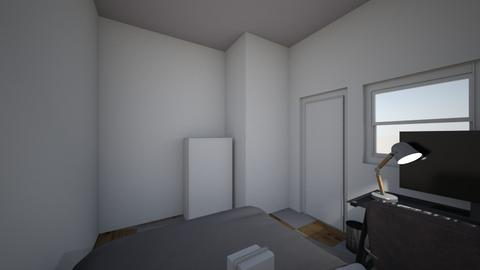 My room - Minimal - Bedroom  - by KIKE9856