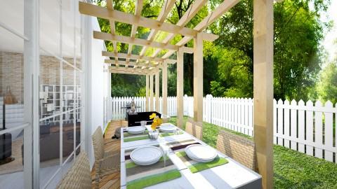 RAINRAIN - Dining room - by didi_