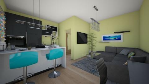 studens - Living room  - by emiragiba