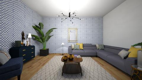 PROPUESTA SALA - Living room  - by eliza_ellie