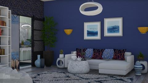 Contest_5 - Modern - Living room  - by Irishrose58