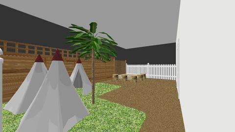 patio - Kids room  - by estela sanchez