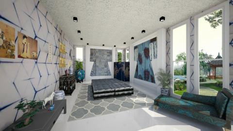 Shibori Kimono Museum - Eclectic - Living room  - by Joao M Palla