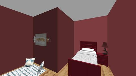 Red Stallion room - Bedroom  - by SierraJohnson2666