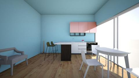 the calm kitchen - Kitchen  - by icecreamsundae2