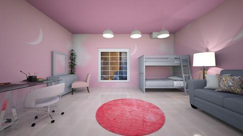 pink room - Bedroom  - by alexa0921
