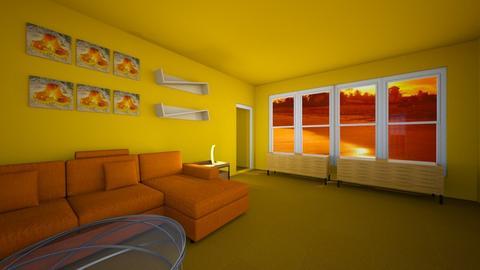 living room III - Modern - Living room - by emmie314