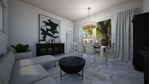 mieszkanie - Bedroom - by DERRYS