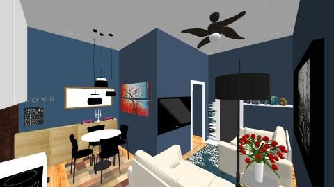 condo 2_1 - Modern - Living room - by edjsueno