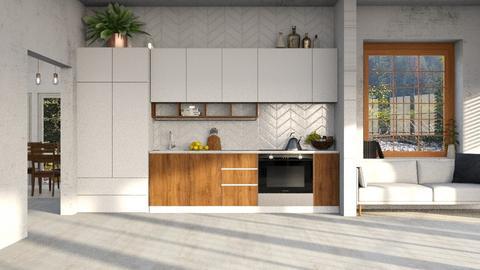S Kitchen - Kitchen  - by Mist Wolf