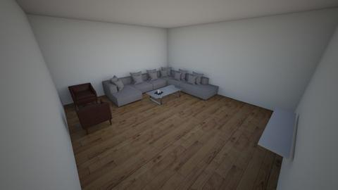 modern living room - Living room  - by ikfarhan