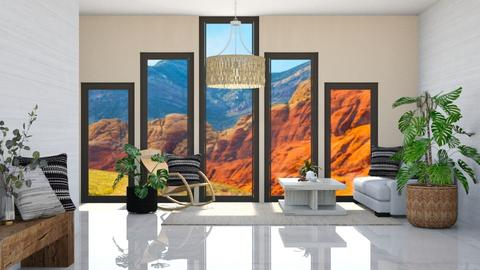 Pretty - Living room  - by Meghan White