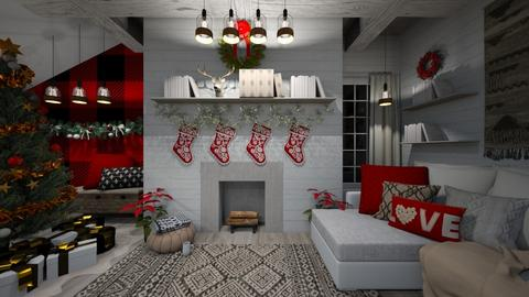 Christmas Time - Living room - by Rebekah Pincock