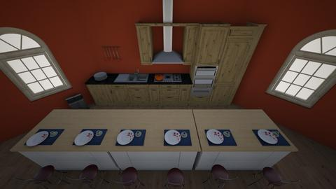 Country Kitchen - Country - Kitchen - by MimiB115
