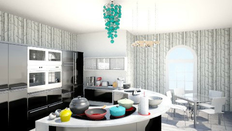 Kithcen N1 - Classic - Kitchen  - by troostloos