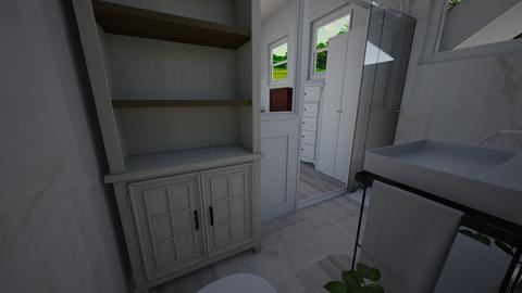 Tiny house pool house 19 - Bathroom  - by joannaowen