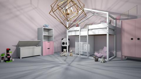pretty pink - Kids room  - by gvjcjfcj