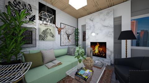 art deco - Living room  - by jalainastyles