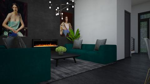 new home no1 - Living room  - by zozan