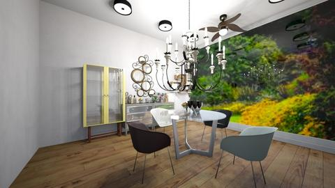 dining room - Dining room  - by siddhi0103