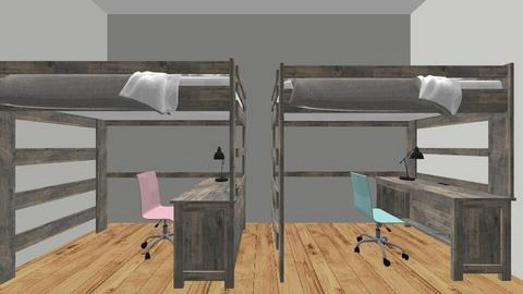 4 tween rooms and bath - Modern - Bedroom - by 1adriana1