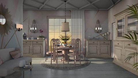 Dining room - by ZsuzsannaCs