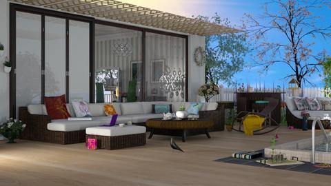 spring - Modern - Living room  - by nat mi