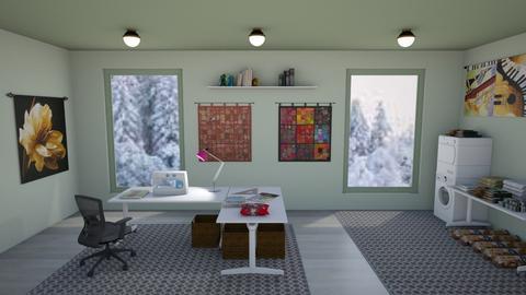 Sewing Room - by KarJef