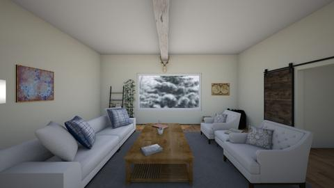 Cabbin - Living room - by mermaid girl2004