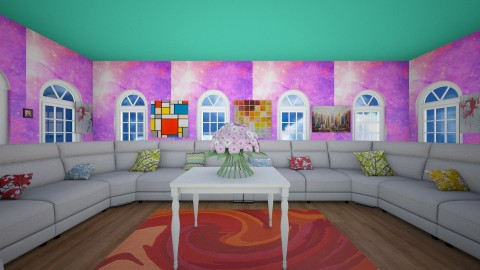 Colorful Room Contest - Eclectic - by vaeh1223