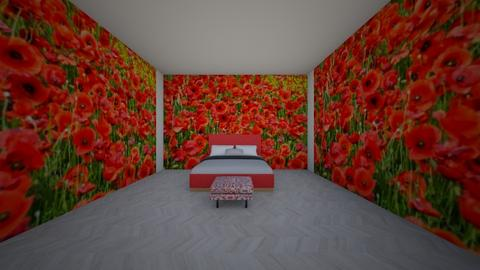 poppie entry - Bedroom  - by Pizzahomestyler