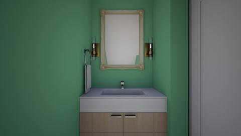 Bathroom Under the Stairs - Bathroom  - by SammyJPili