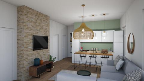 Boho living - Living room  - by snowpa